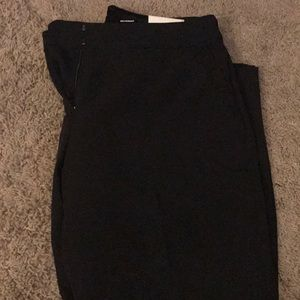 NWT Express Mid Rise Black Columnist Ankle Pant